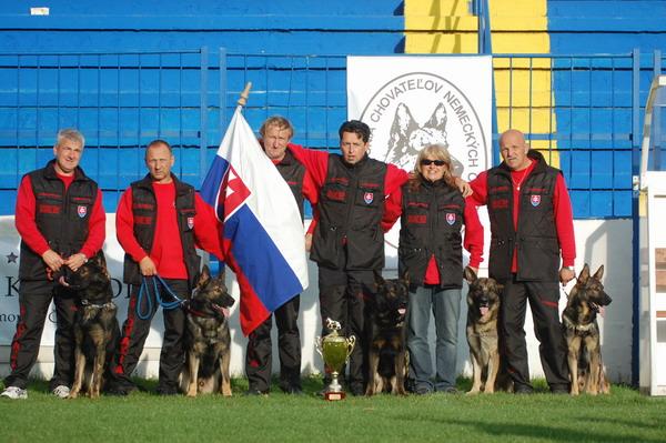 Reprezentácia Slovenska WUSV 2007